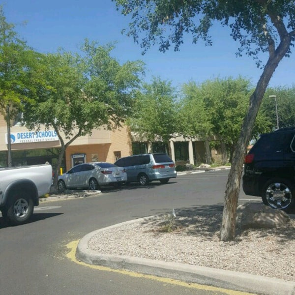 Photo taken at Desert Schools Federal Credit Union by Kelli D. on 4/18/2017