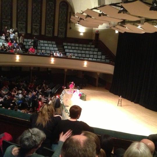 Photo taken at Hochstein School of Music & Dance by Matt D. on 12/17/2012