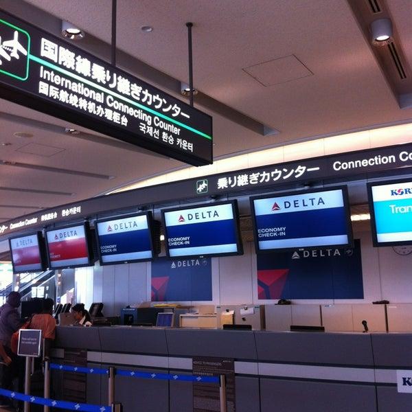 Photo taken at Narita International Airport (NRT) by Rinnah A. on 5/27/2013