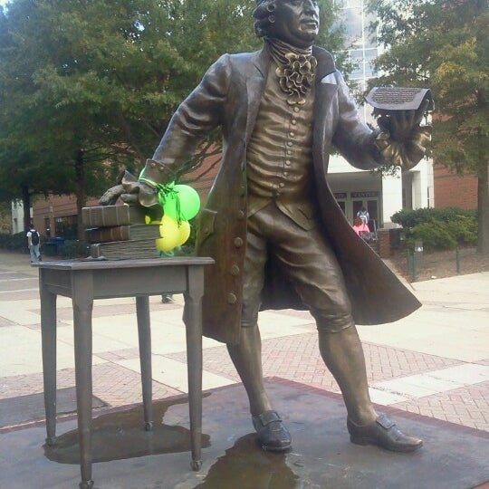 Photo taken at George Mason University by Andy M. on 10/19/2012