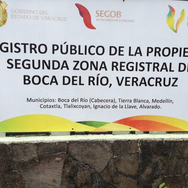 Registro publico de la propiedad de boca del rio for Oficinas del registro de la propiedad