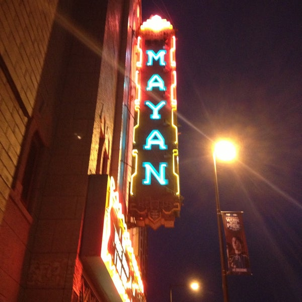 Photo taken at Mayan Theatre by Alissa N. on 4/21/2013