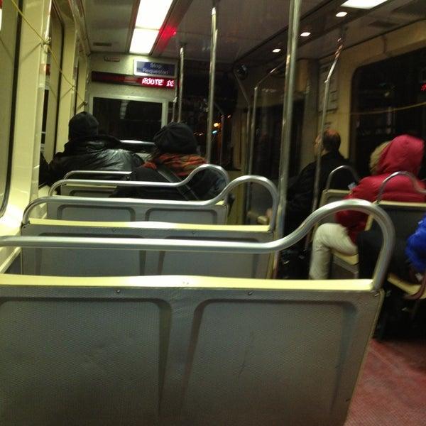 Photo taken at SEPTA MFL/TRL 15th Street Station by Eni O. on 1/29/2013