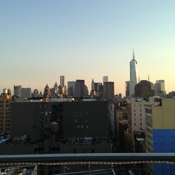 Photo taken at Meetup HQ Roof Deck by Dan P. on 5/17/2013
