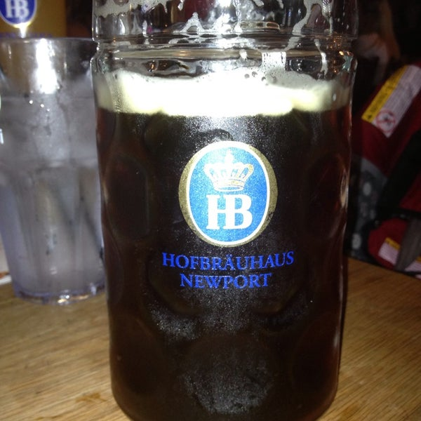 Photo taken at Hofbräuhaus Newport by Brent C. on 5/18/2013