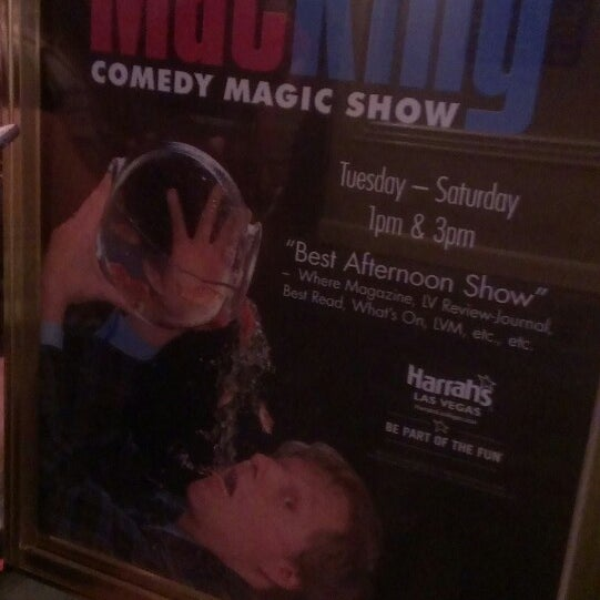 Photo taken at The Mac King Comedy Magic Show by Kayla M. on 8/2/2013