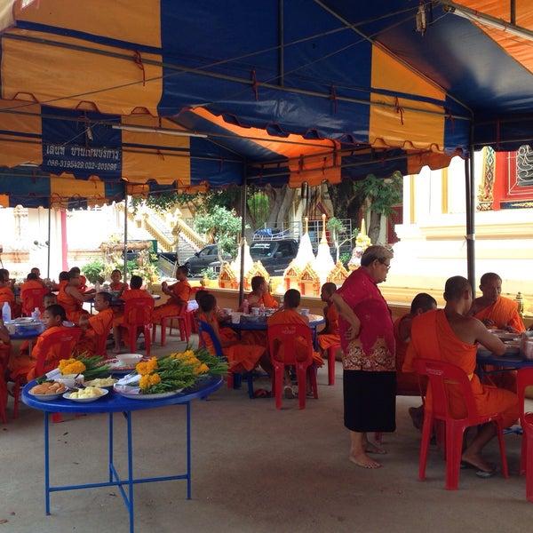 Photo taken at วัดดอนตูม บ้านโป่ง by Jiniiz K. on 4/15/2015