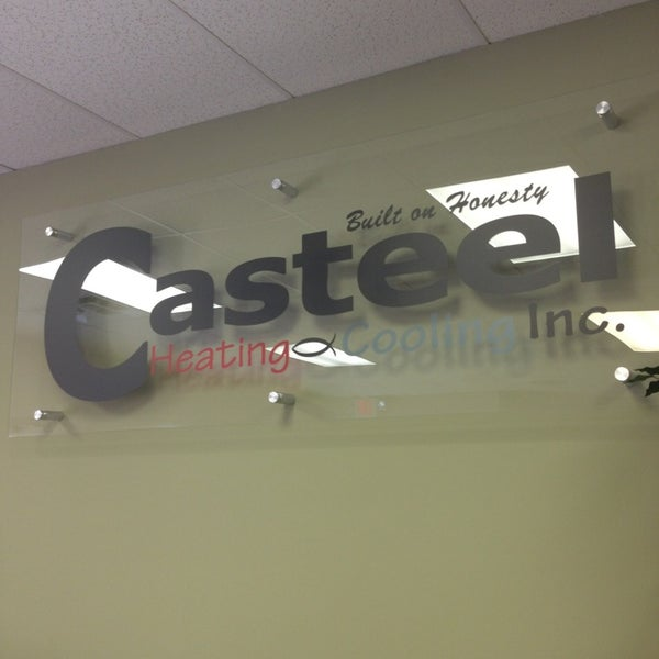 Photo Taken At Casteel Heating Cooling Plumbing Electrical By Jereme T