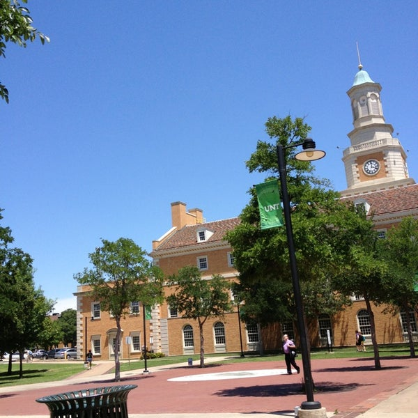 Photo taken at University of North Texas by Laura R. on 6/3/2013
