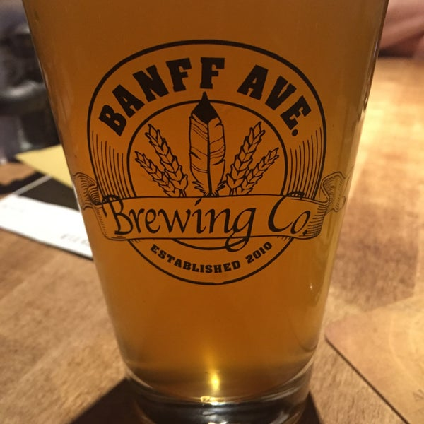 Photo taken at Banff Avenue Brewing Co. by John S. on 9/23/2015