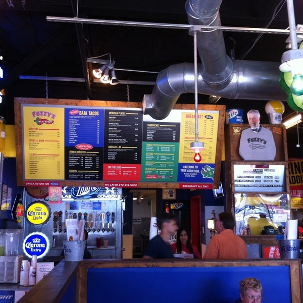 Photo taken at Fuzzy's Taco Shop by Jonathan M. on 7/24/2014