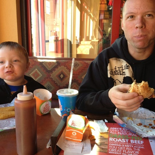 Photo taken at Arby's by Michelle S. on 11/17/2012
