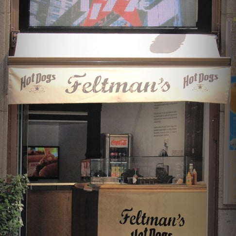 Photo taken at Feltman's Hot Dogs by Jose S. on 8/28/2013