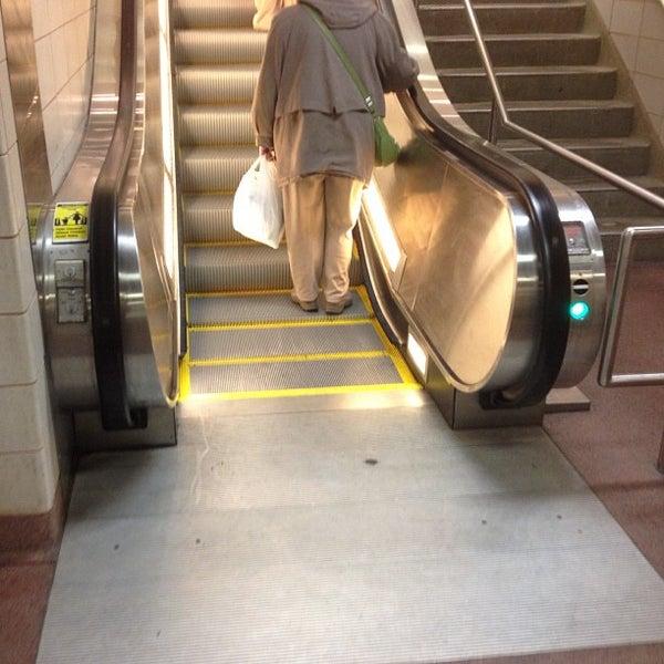 Photo taken at PATCO: Ashland Station by Jeff K. on 11/2/2012