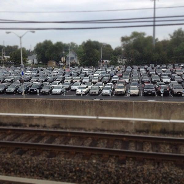 Photo taken at PATCO: Ashland Station by Jeff K. on 10/4/2012
