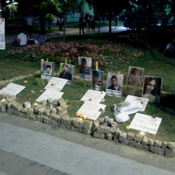 7/18/2013に'Harun' K.がTaksim Gezi Parkıで撮った写真