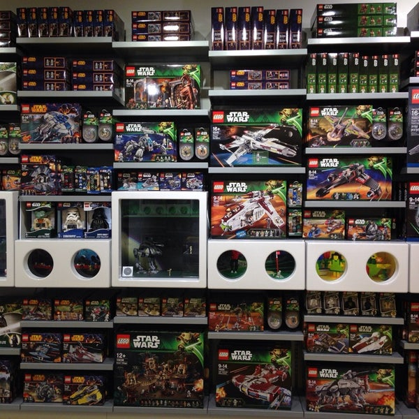 Photo taken at LEGO Store by Sofie G. on 2/6/2014