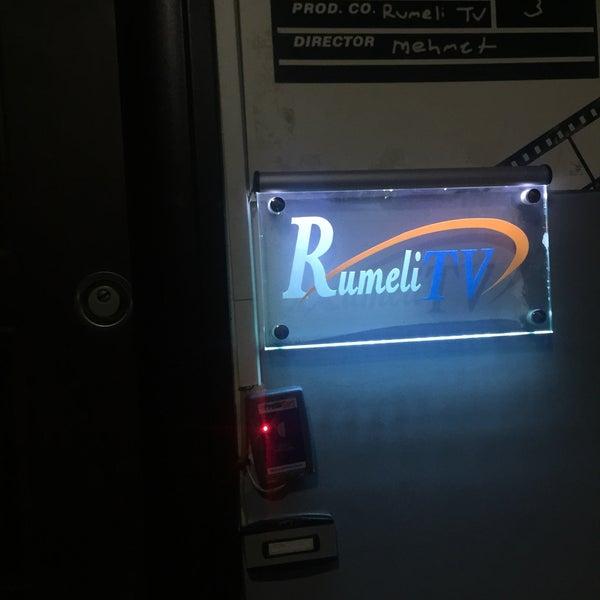 8/2/2017 tarihinde Murat Y.ziyaretçi tarafından Rumeli Tv'de çekilen fotoğraf