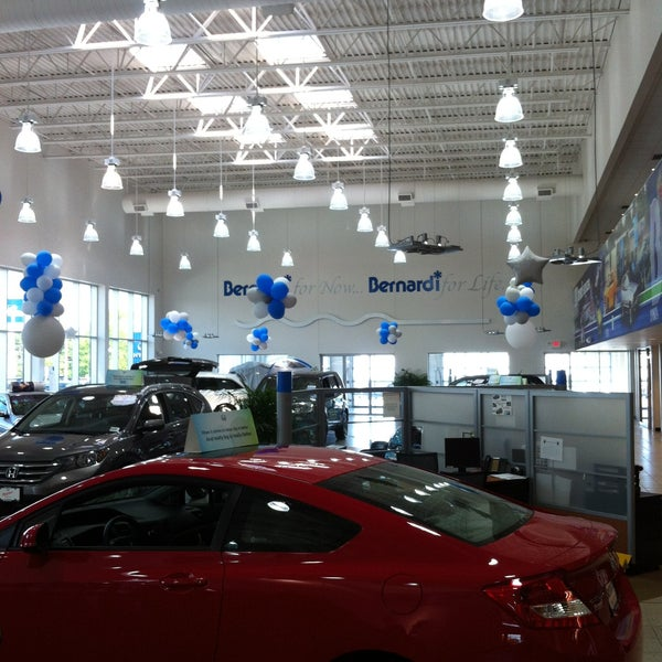 Photo Taken At McGovern Honda By Brent H. On 5/15/2013