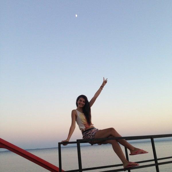 7/16/2013 tarihinde Selin Z.ziyaretçi tarafından Küçükkuyu Limanı'de çekilen fotoğraf