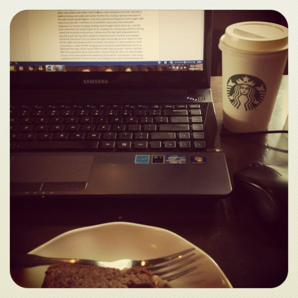 Photo taken at Starbucks by Andrea C. on 9/7/2013