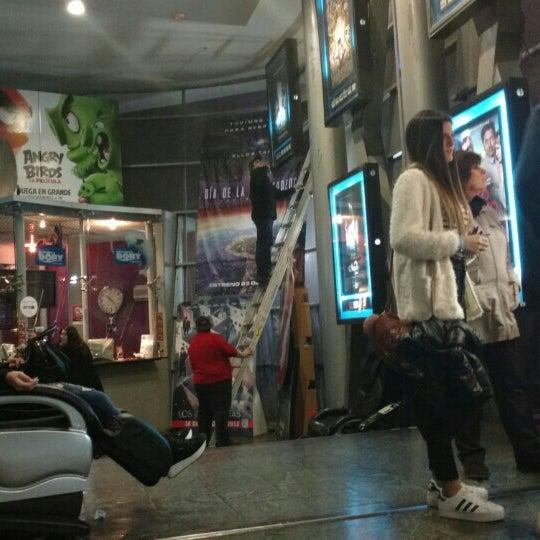 Photo taken at Cine Hoyts by Manuel M. on 6/9/2016
