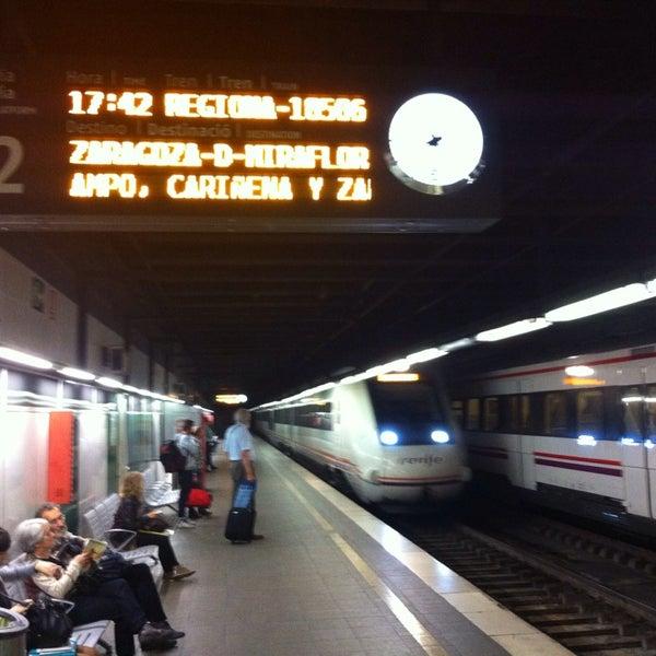 Photo taken at Estació de Tren - València-Cabanyal by Salva S. on 5/20/2014