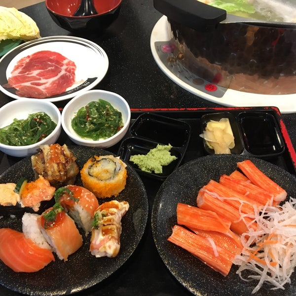 Photo taken at Shabushi by Phing T. on 4/24/2017
