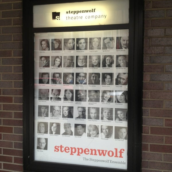 Photo taken at Steppenwolf Theatre Company by Jack M. on 12/31/2012