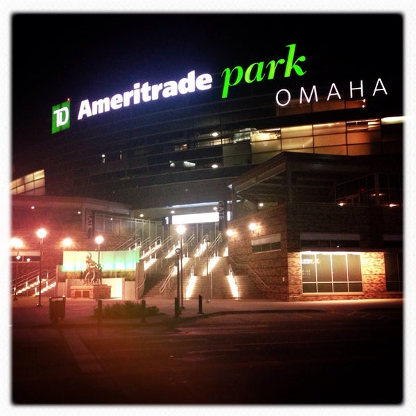 Photo taken at TD Ameritrade Park by Michael P. on 9/4/2013