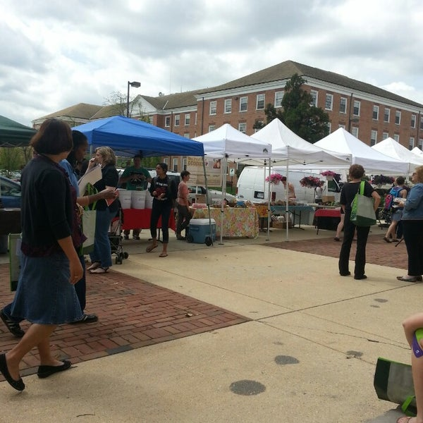Photo taken at The Farmers Market at Maryland by Ryan D. on 4/17/2013