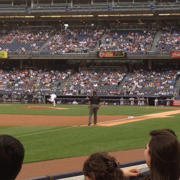 Photo taken at Yankee Stadium by Tom P. on 7/8/2013