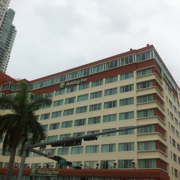 Miami Cruise Port Hotels: Holiday Inn Port Of Miami-Downtown