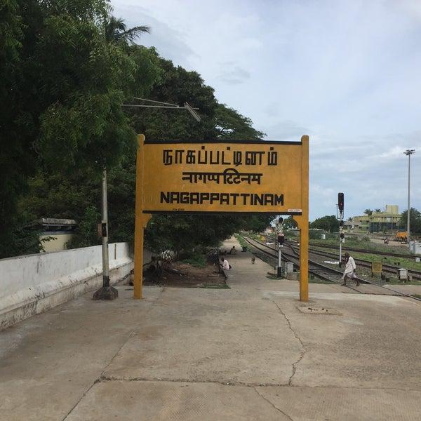 Image result for nagapattinam railway station