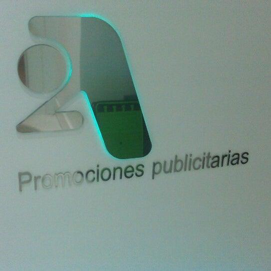 Foto tomada en 2A Promociones Publicitarias por Joaquín D. el 5/8/2013