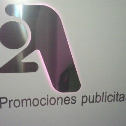 Foto tomada en 2A Promociones Publicitarias por Joaquín D. el 9/17/2012