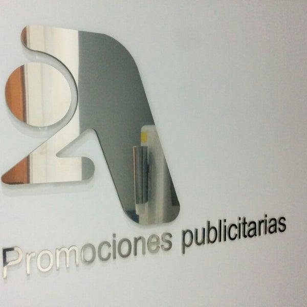 Foto tomada en 2A Promociones Publicitarias por Joaquín D. el 9/23/2014