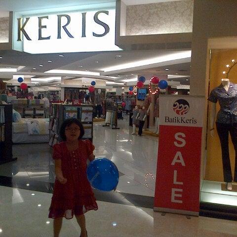 Photo taken at Keris Departement Store by Hendric Chia K. on 5/25/2013