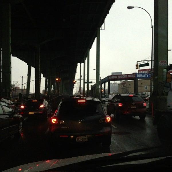Photo taken at Hamilton Avenue Bridge by Albert S. on 1/18/2014