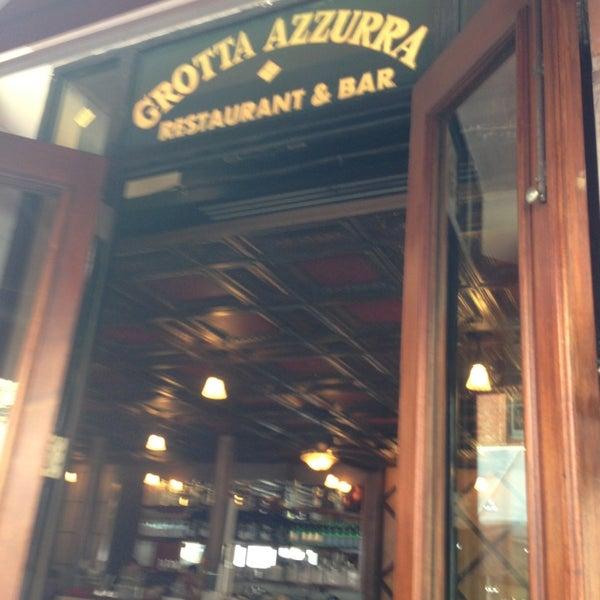 Photo taken at Grotta Azzurra by Albert S. on 9/21/2013