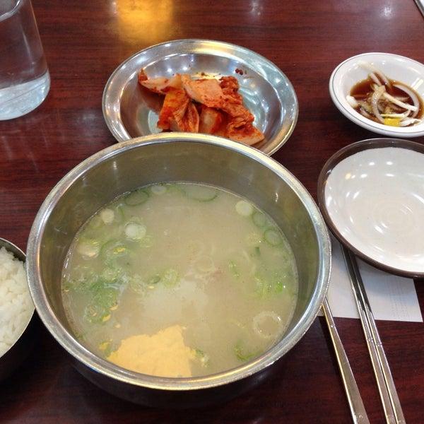 12/21/2013에 Jin J.님이 신선설농탕에서 찍은 사진