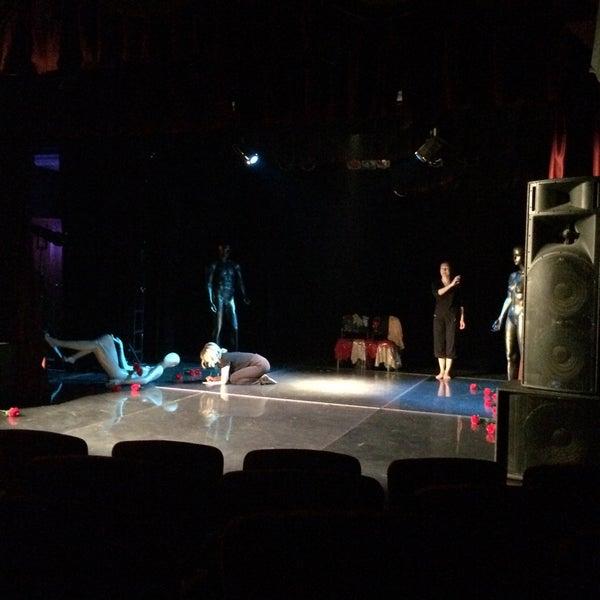 Снимок сделан в Театр-кабаре на Коломенской/ The Private Theatre and Cabaret пользователем Ekaterina T. 11/21/2016