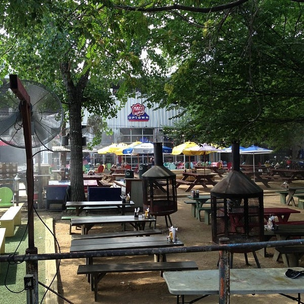 Photo taken at Katy Trail Ice House by Adam C. on 7/8/2013