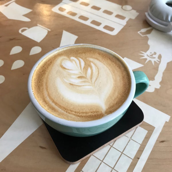 Снимок сделан в First Point Espresso Bar пользователем Ksusha C. 8/19/2017