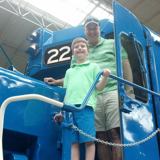 Photo taken at Railroad Museum of Pennsylvania by Patrick C. on 7/13/2013