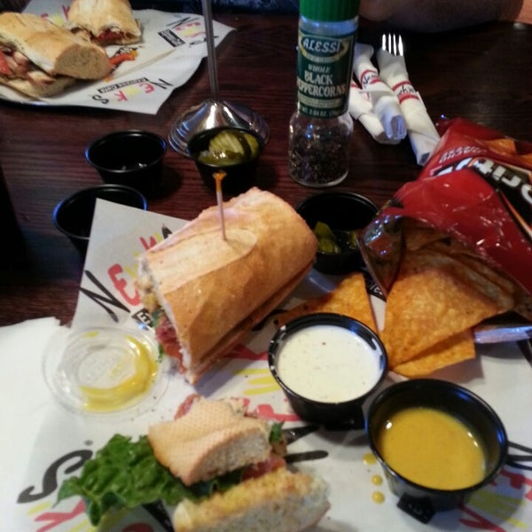 Photo taken at Newk's Express Cafe by Ashley B. on 4/20/2013