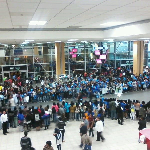 Photo taken at Jorge Chávez International Airport (LIM) by Fabiola F. on 4/27/2013