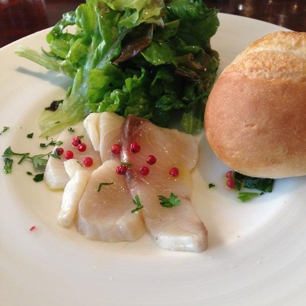 Das Foto wurde bei cucina italiana aria von Toshinori am 2/28/2013 aufgenommen