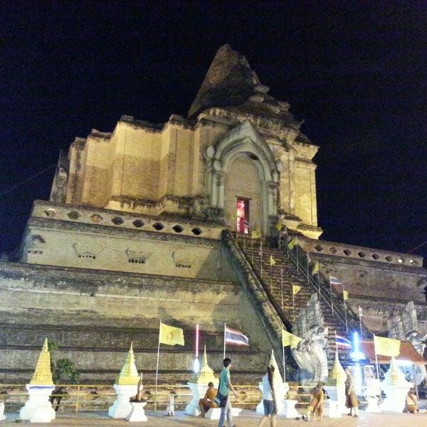 Photo taken at Wat Chedi Luang Varavihara by Foxeel A. on 6/4/2013