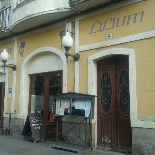 Foto tomada en Restarurante Lilium por Ignacio G. el 12/14/2011